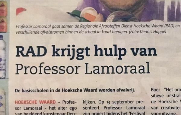 De Professor in de pers