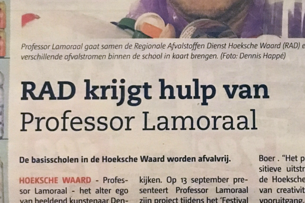 De Professor in de pers