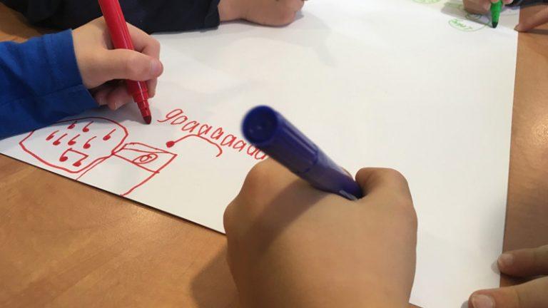 Afvalredders-brainstorm