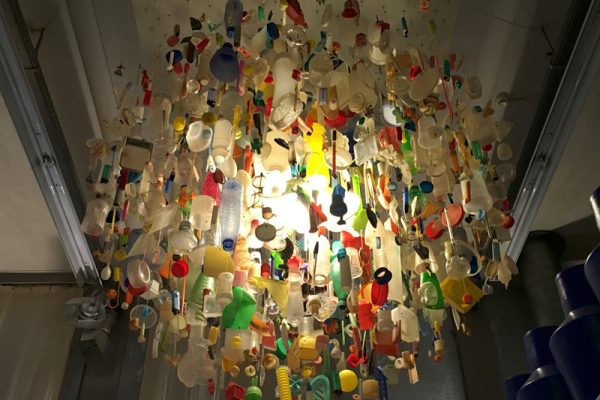 Lichtobject van plastic