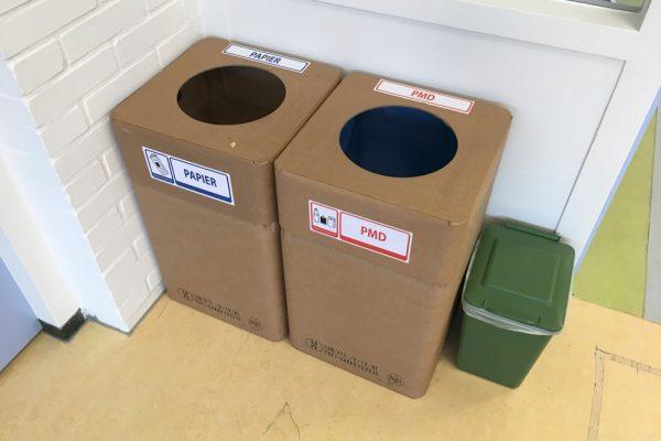 Duurzame afvalbak